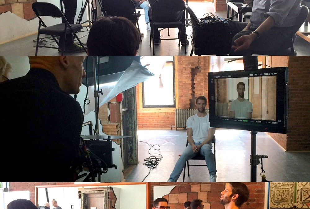 Production Update: Filming with James Whiteside and Patrick Frenette